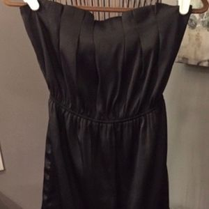 Strapless Little Black Dress-SZ S